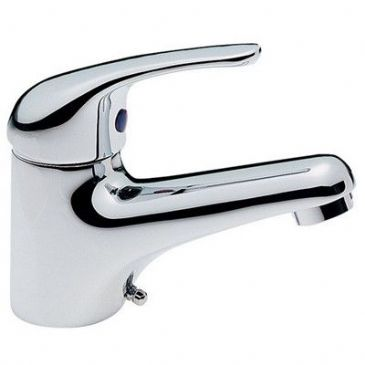 BASIN MIXER TAP C/W FLEXI PUSH FIT TAILS